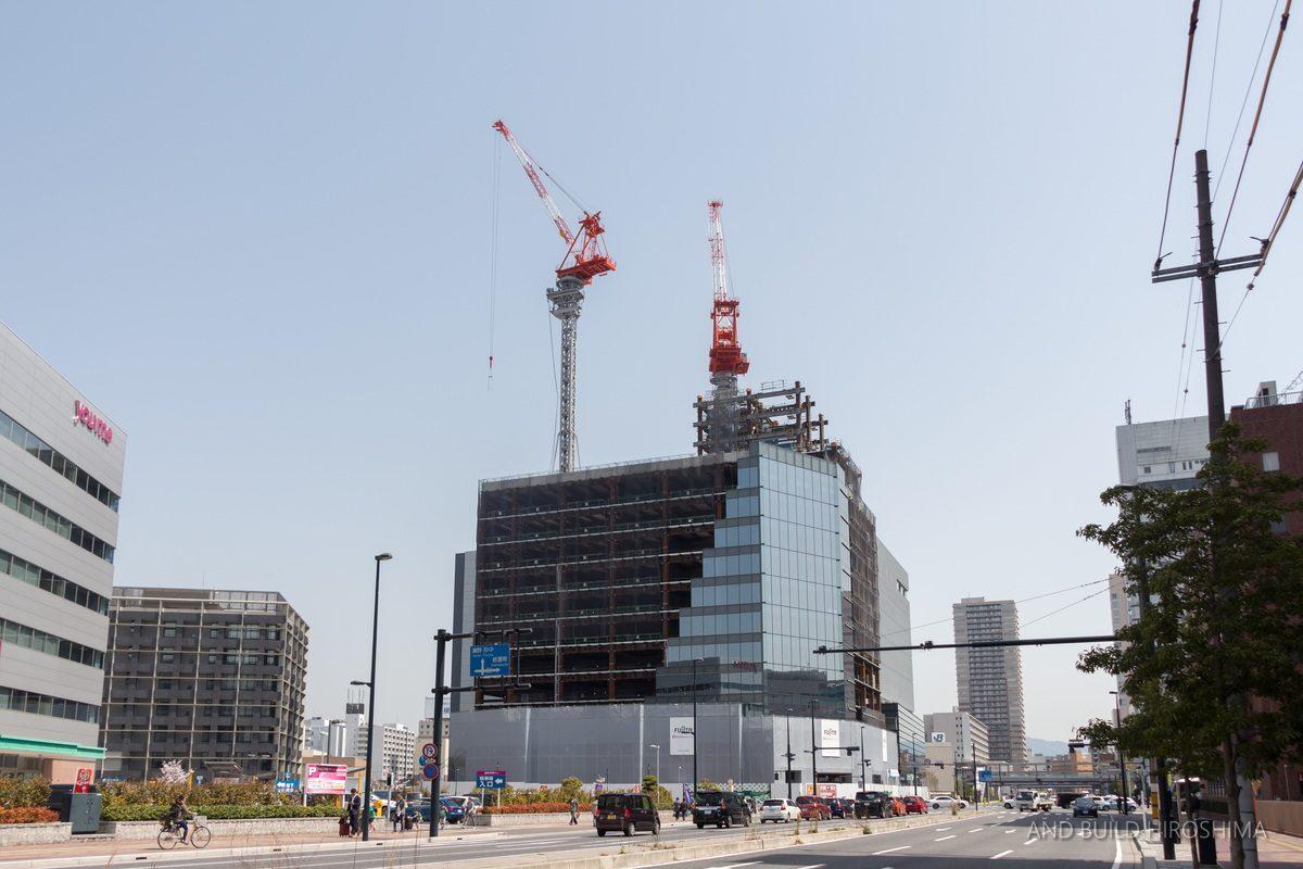JR西広島駅自由通路等整備工事 2020.03 ...