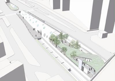 白島新駅イメージ図(2012)
